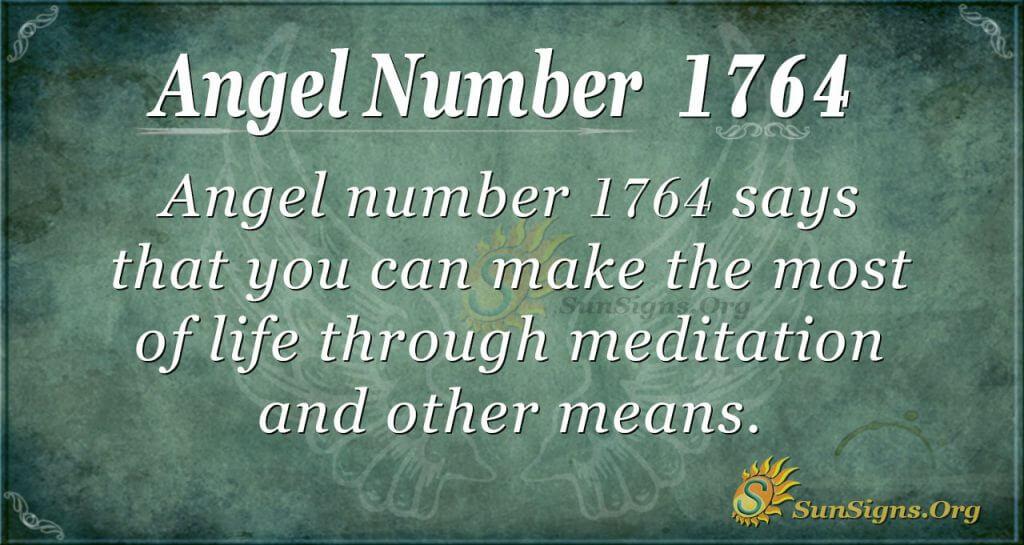 Angel Number 1764