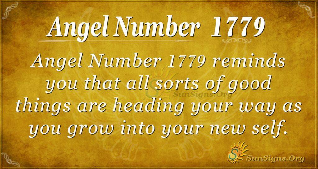 Angel Number 1779