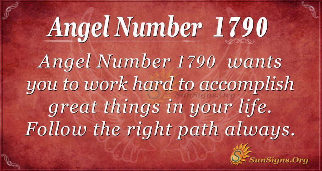 Angel Number 1790