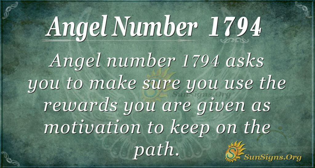 Angel Number 1794