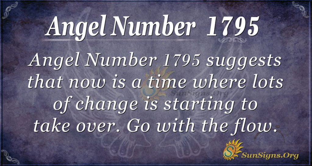 Angel Number 1795