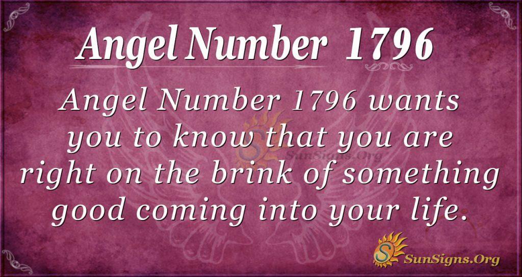 Angel Number 1796