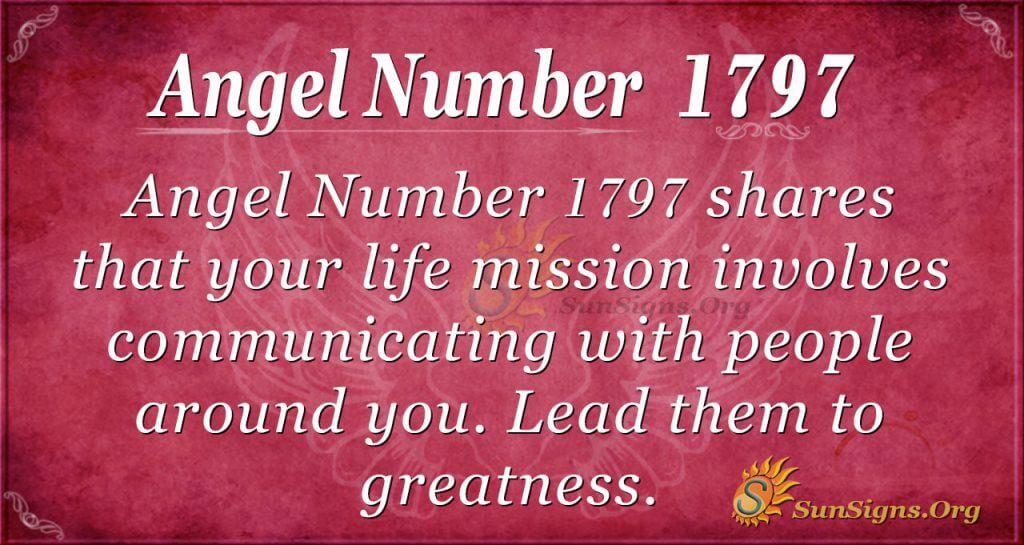 Angel Number 1797