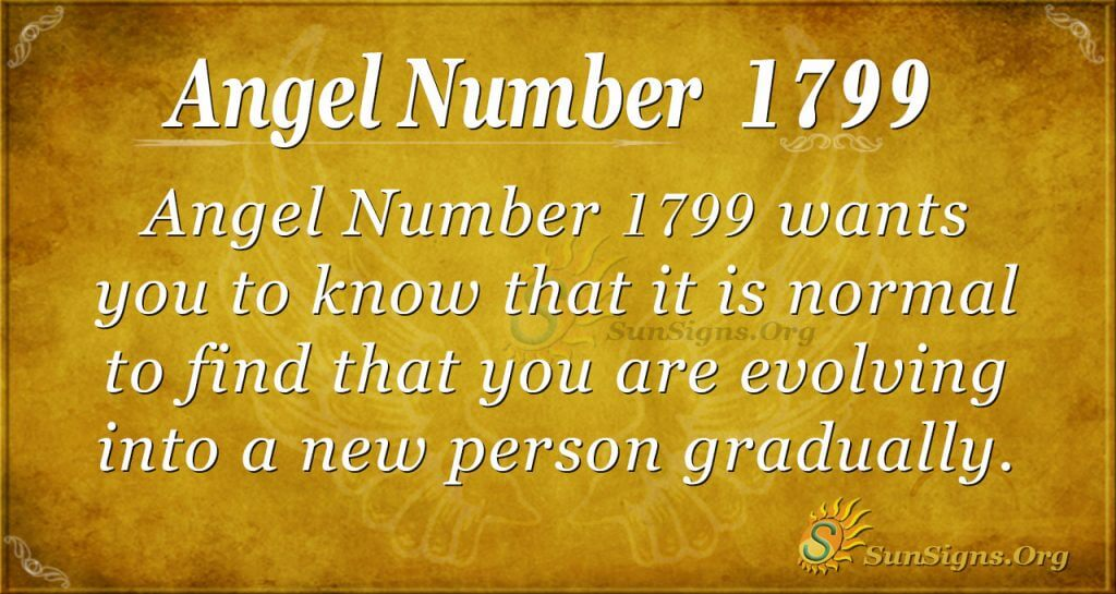 Angel Number 1799
