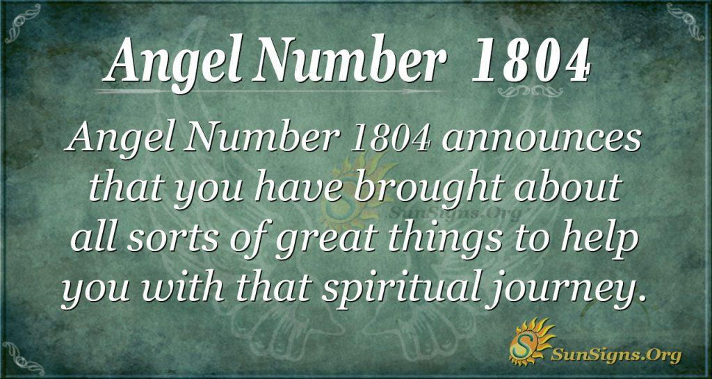Agel Number 1804