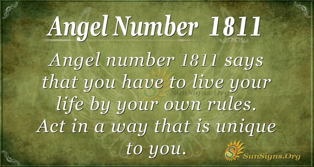Angel Number 1811