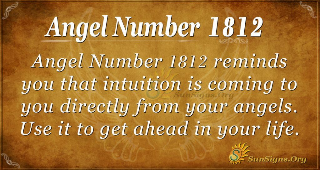 Angel Number 1812
