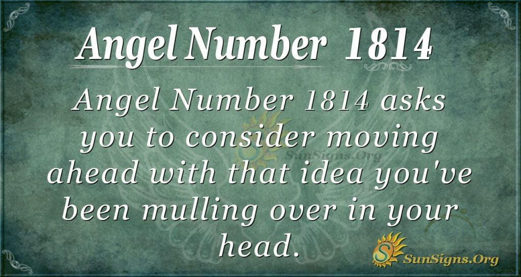 Angel Number 1814