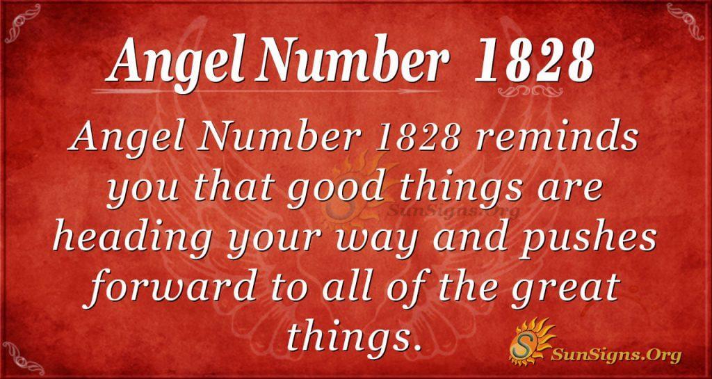 Angel Number 1828