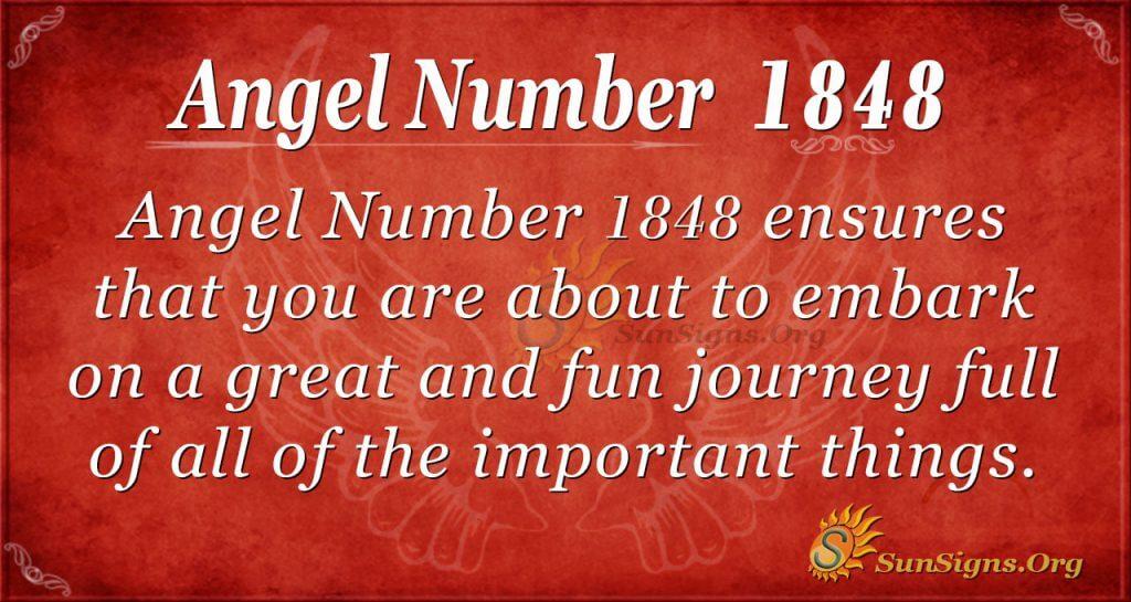 Angel Number 1848