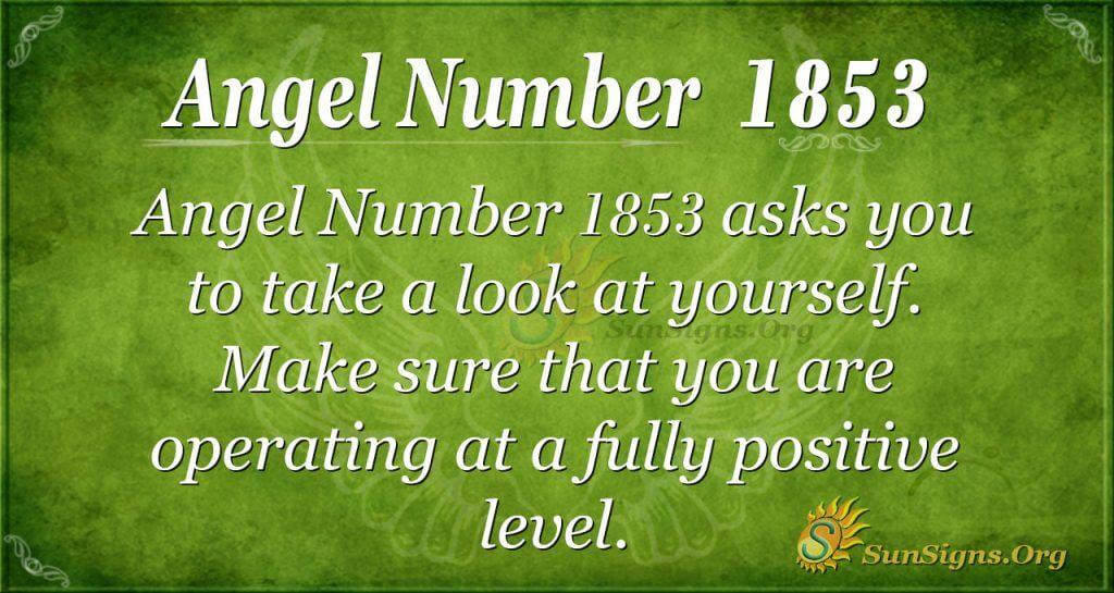 Angel Number1853