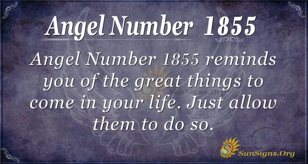 angel Number1855