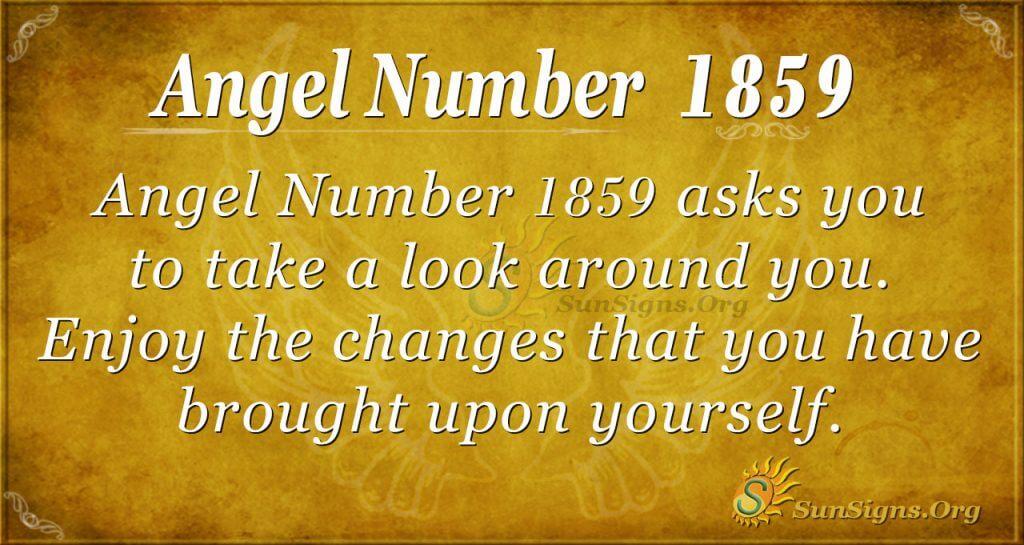 Angel Number 1859