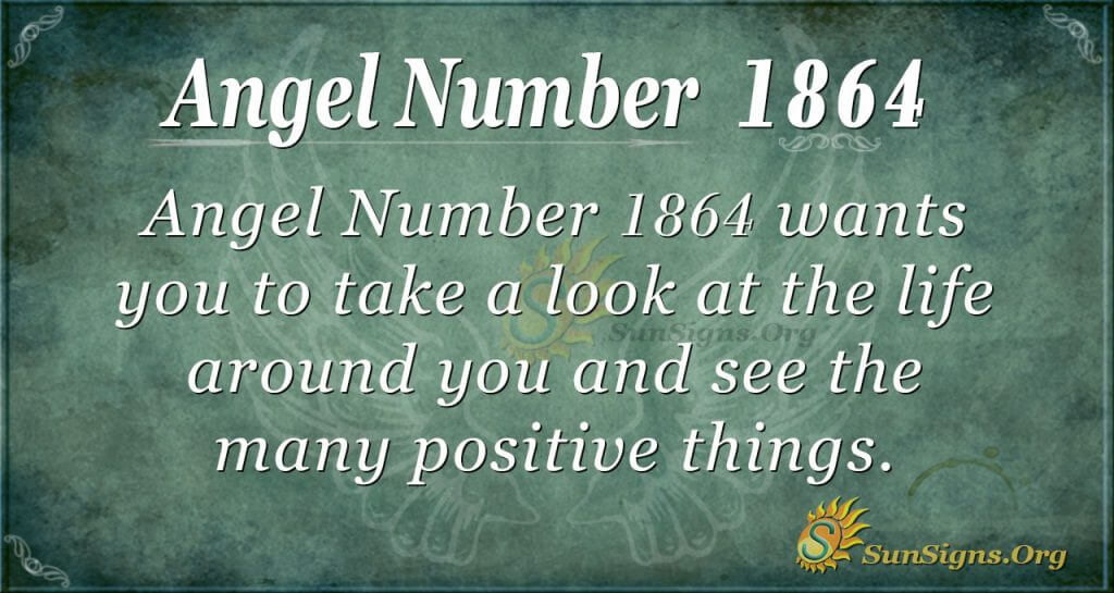 Angel Number 1864