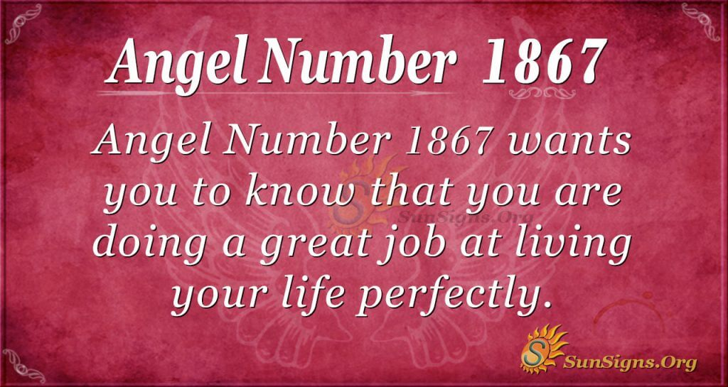 Angel Number 1867