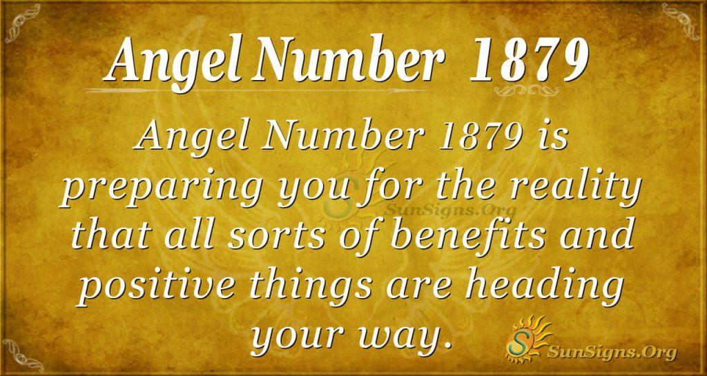 Angel Number 1879