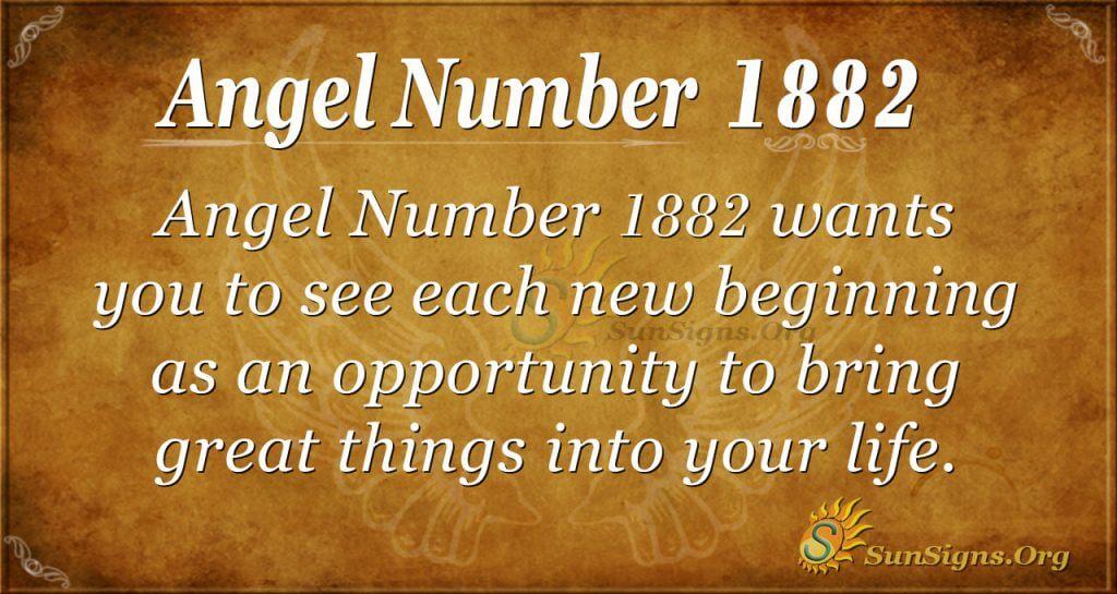 Angel Number1882