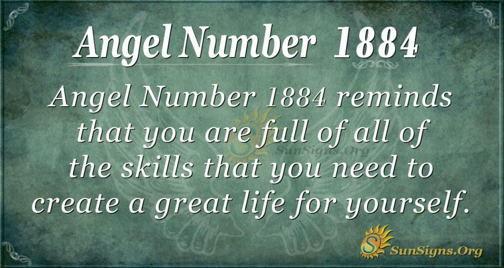 Angel Number 1884
