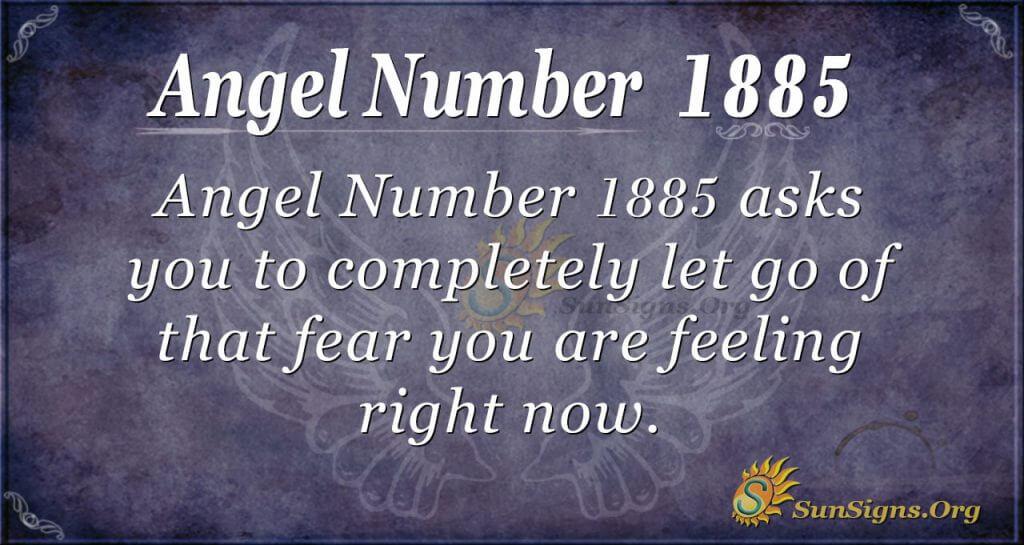 Ange Number 1885