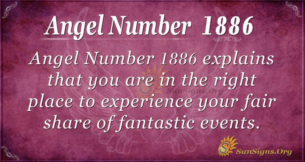 Angel Number 1886