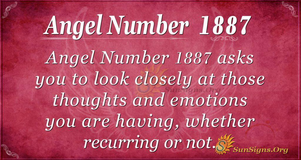 Angel Number 1887