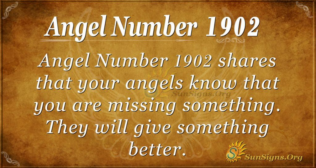 Angel Number 1902