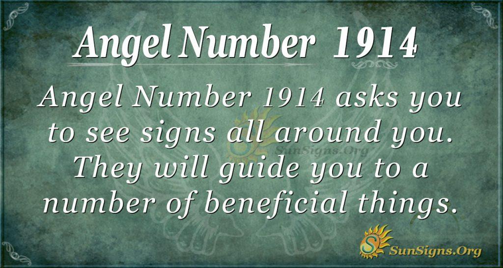 Angel Number 1914