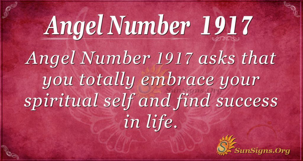 Angel Number 1917
