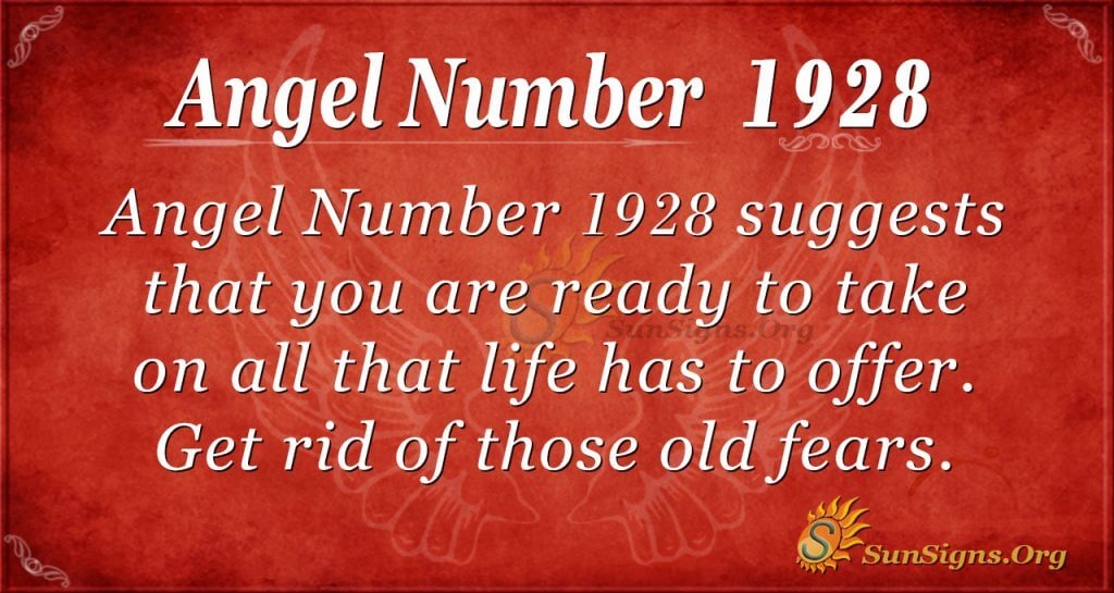 Angel Number 1928