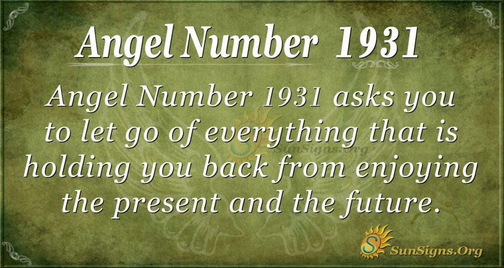 Angel Number 1931