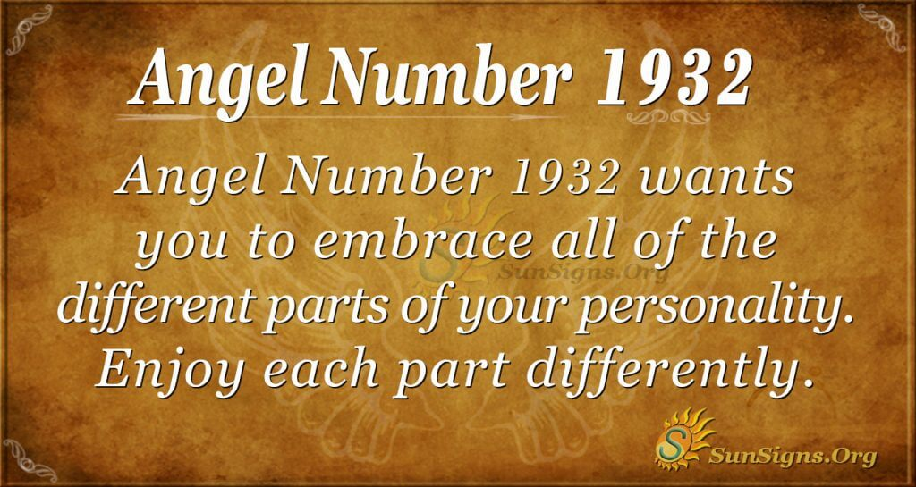 Angel Number1932
