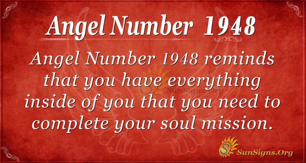 Angel Number 1948