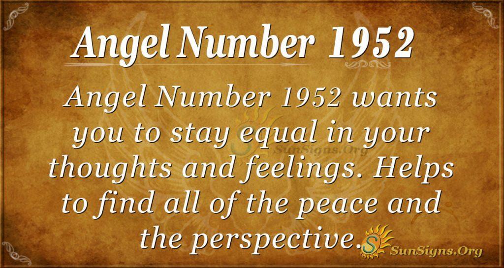 Angwl Number 1952