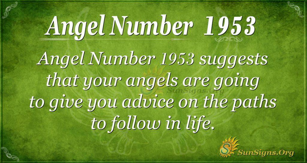 Angel Number 1953