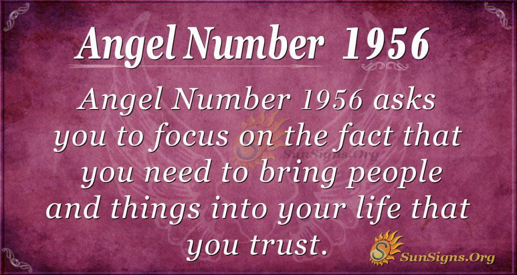 Angel Number 1956