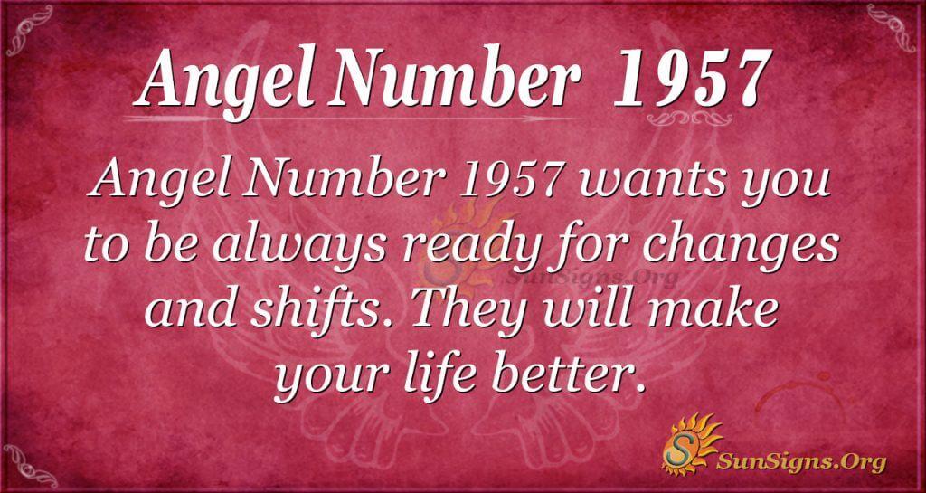 Angel Number 1957