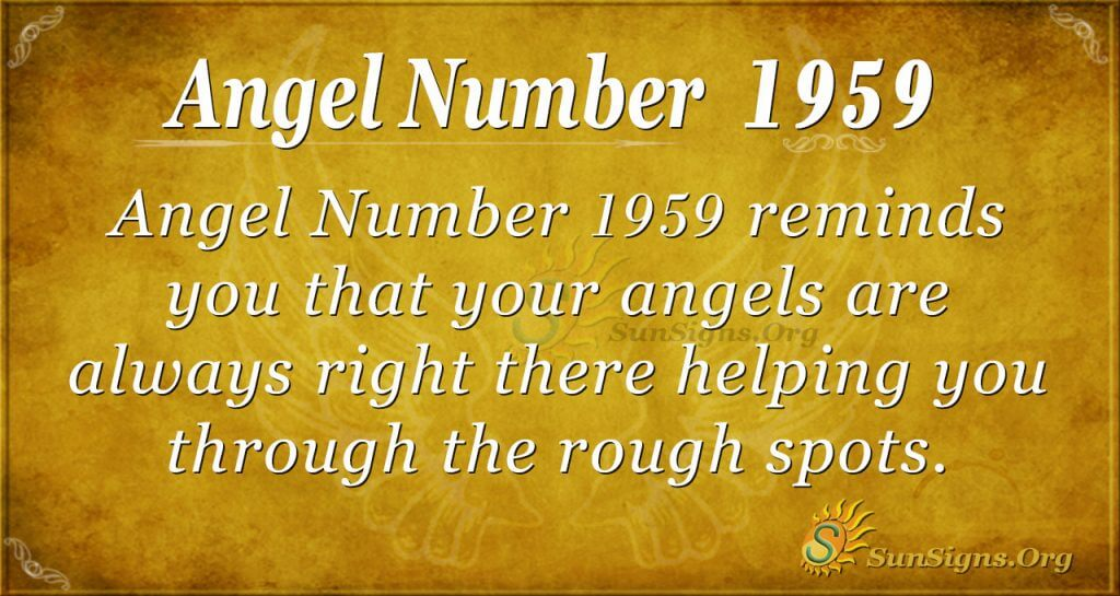 Angel Number 1959