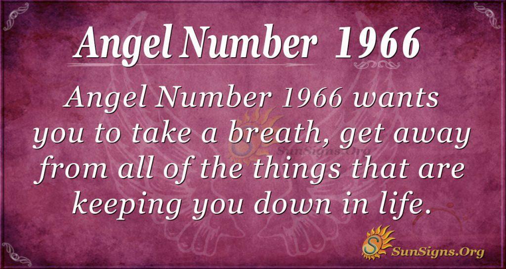 Angel Number 1966