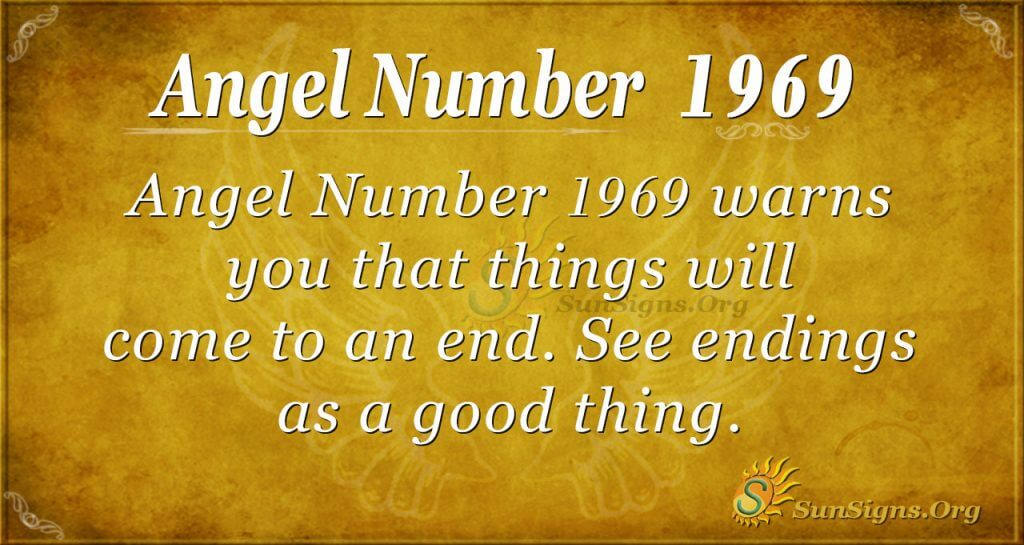 Angel Number 1969