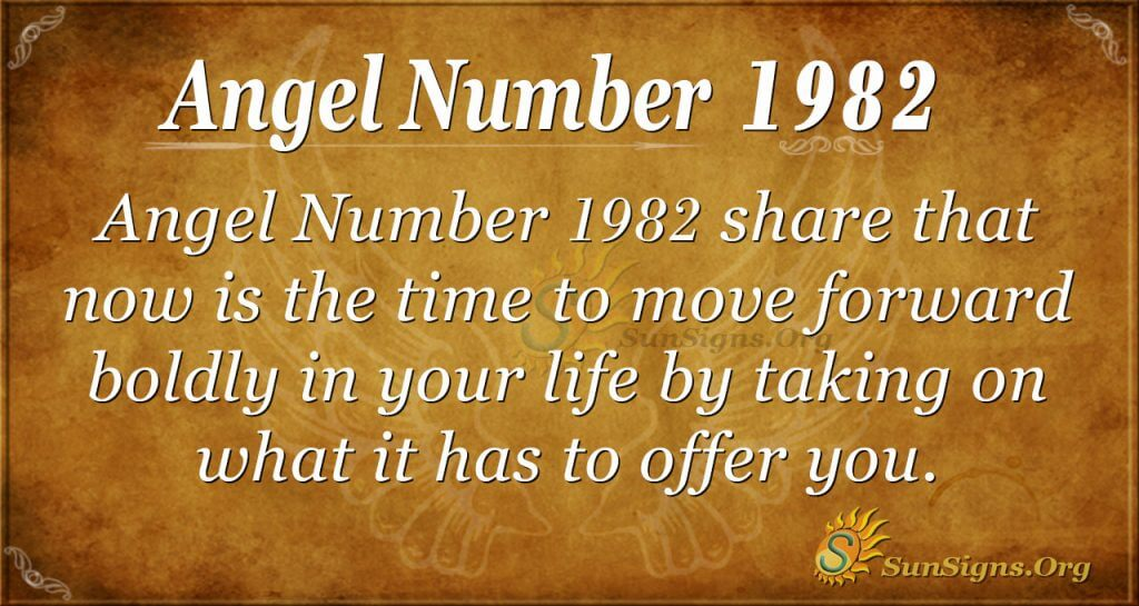 Angel Number 1982