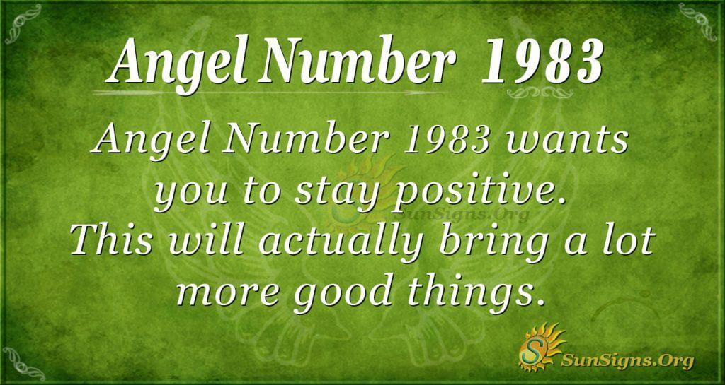 Angel Number 1983
