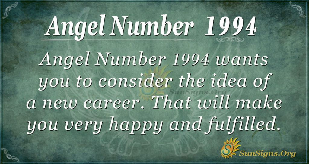 Angel Number 1994