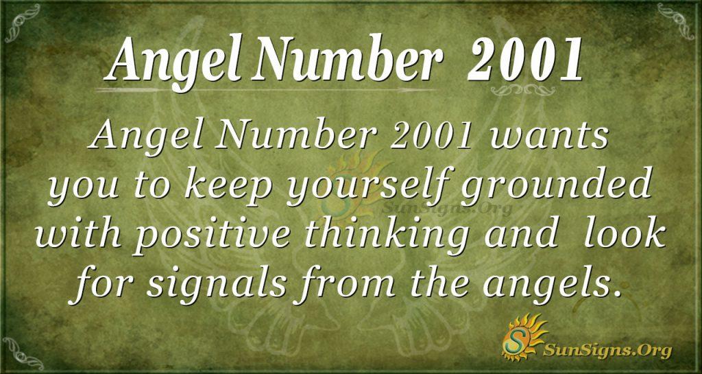 Angel number 2001