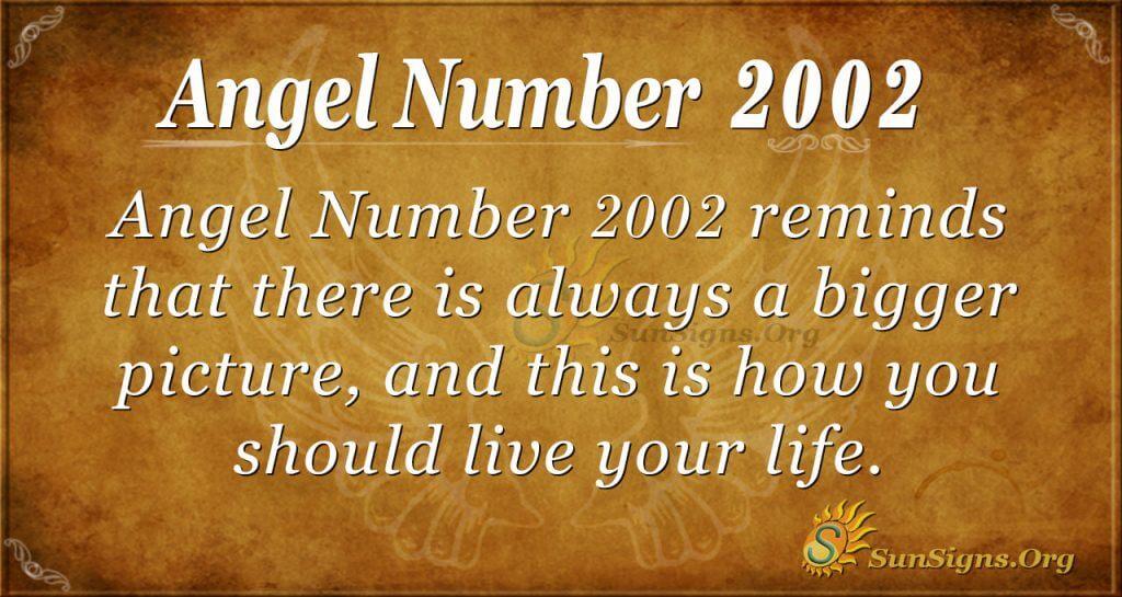 Angel number 2002