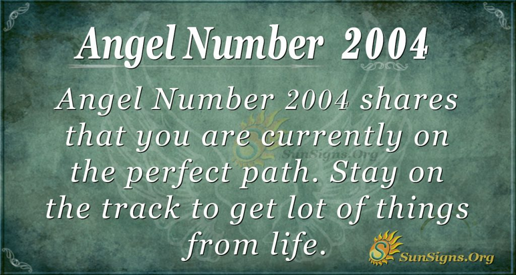 Angel Number 2004