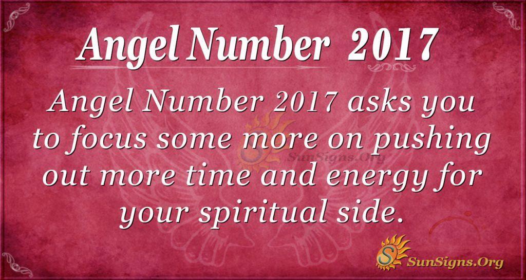 Angel Number 2017