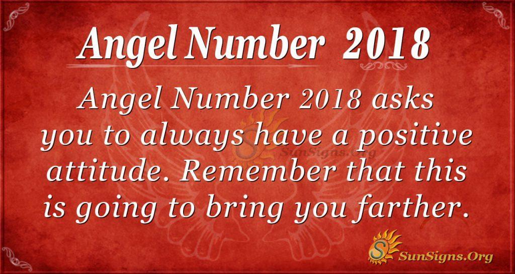 Angel Number 2018