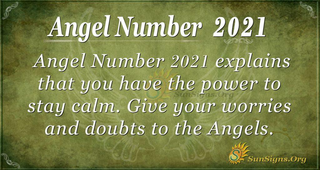 Angel number 2021
