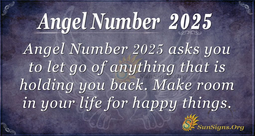 Angel Number 2025