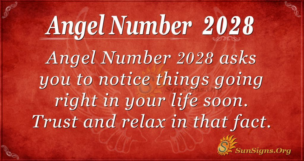 Angel Number 2028